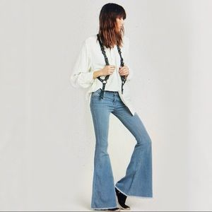 Free People Flare Bell Bottom Boot Cut Jeans 26